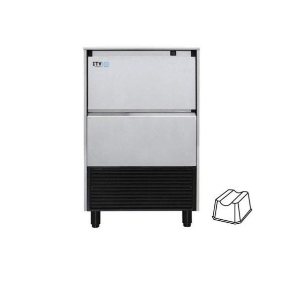 ITV 112kg/24h našumo, kubelio formos ledo generatorius ALFA NG110A