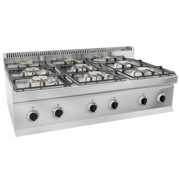 Gas stove burners  kW with pilot flame